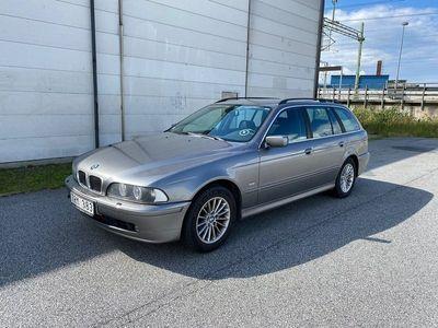 begagnad BMW 520 i Touring Besiktad