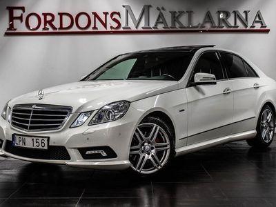 begagnad Mercedes E250 CDI AMG AUT NAVI PANORAMA HEMLEVERANS