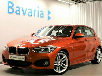 "begagnad BMW 118 d xDrive M-Sport 18"" PDC bak"