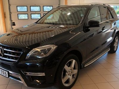 begagnad Mercedes 350 ML BenzBlueTEC 4MATIC 7G-Tronic Plus AMG Euro 6 2014, SUV 286 000 kr