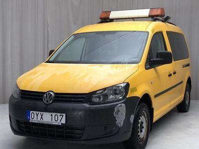 begagnad VW Caddy Cross Caddy VW2.0 Ecofuel Maxi Skåp 2012, Transportbil 40 000 kr