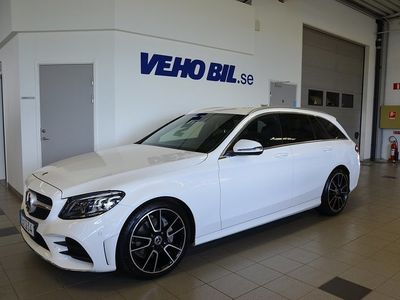 begagnad Mercedes C220 T d 9G-Tronic Euro 6, AMG Line, Dragkrok, Multibeam, Comand