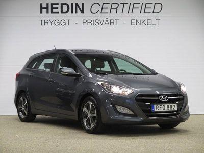 begagnad Hyundai i30 CW 1.6 GDI Comfort 2017, Kombi 129 900 kr