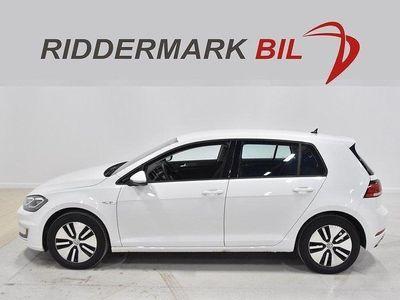begagnad VW e-Golf 35.8 kWh NAVI MOMS