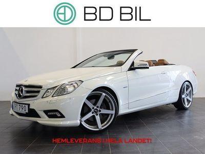 begagnad Mercedes E350 CDI CAB AMG NAVI