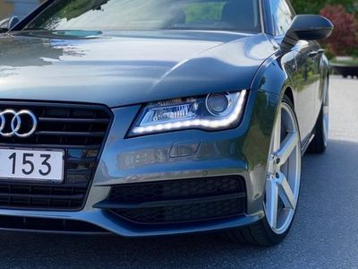 begagnad Audi A7 3,0 tdi s-line i toppskick