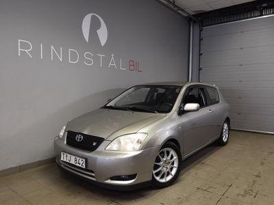 begagnad Toyota Corolla 1.8 T-Sport 2003, Halvkombi 19 900 kr