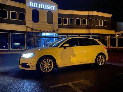 begagnad Audi A3 Sportback 1.4 S-Line 125HK