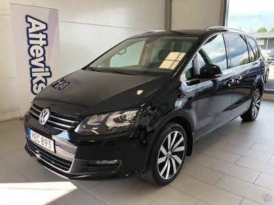 begagnad VW Sharan TDI 150hk 4Motion Premium Drag Värmare