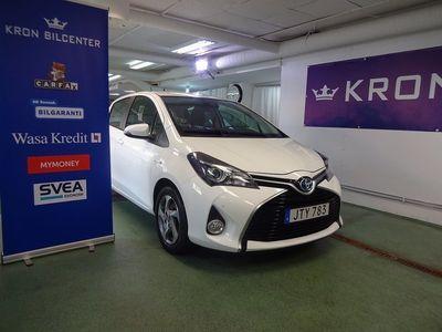 begagnad Toyota Yaris Hybrid 1.5 Active GPS Backkamera -16