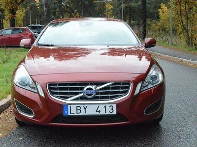 begagnad Volvo S60 D3 Aut Bluetoth 1 Års garanti Ny servad Fullservice historik