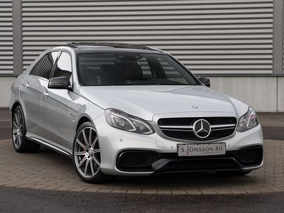 begagnad Mercedes E63 AMG S / Panorama / Keyless -14