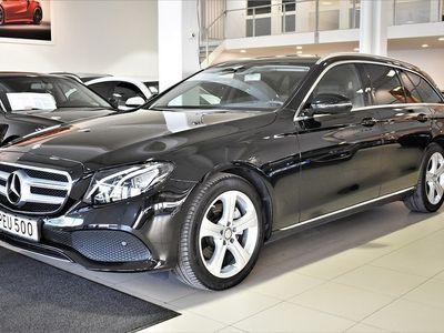 gebraucht Mercedes E220 d Aut Backkamera Drag Miljöbil LEASEBAR Euro 6 194hk
