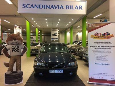 begagnad Volvo S60 R 2.5T LÅG MIL VÄLVÅRDAD DRAG 210 H -04