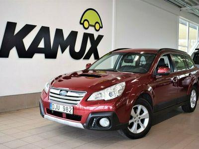 begagnad Subaru Outback 4WD | 150 hk | Drag | M-värmare | Skinn | S&V |