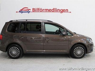 begagnad VW Touran 1.6 TDI BlueMotion 105hk 7-Sits Panorama