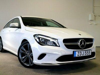 "begagnad Mercedes CLA220 Shooting Brake d 4M 220d 177hk 4Matic SB 7G-DCT LED 18"" V-Hjul"
