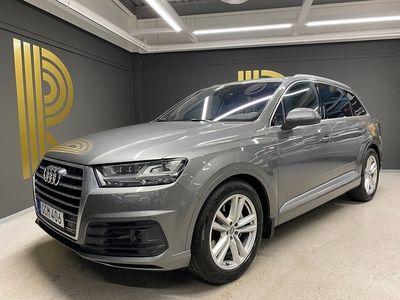 begagnad Audi Q7 3.0 TDI quattro S-Line 7-sits 272hk
