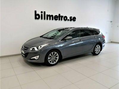 begagnad Hyundai i40 136hk Aut Drag Motorvärmare Vinterhjul dubb