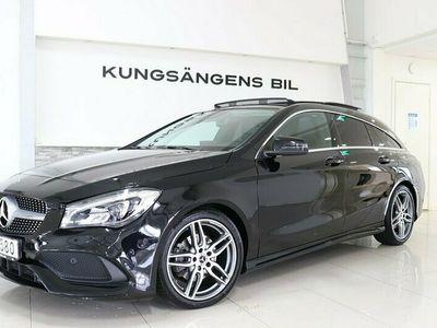 begagnad Mercedes CLA180 Shooting Brake AMG Pano CarPlay Drag V-hjul 122hk