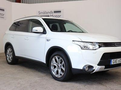 brugt Mitsubishi Outlander P-HEV 2.0 4WD 121hk *Drag*