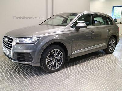 begagnad Audi Q7 Sport Edition, S-Line 7-sits 272hk