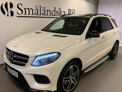 begagnad Mercedes 350 GLE Benzd 4MATIC 9G-Tronic AMG Sport 2016, SUV 399 000 kr