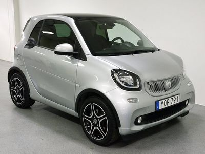 begagnad Smart ForTwo Coupé Passion 0.9 90hk/Navi/Panorama