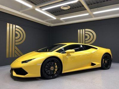 begagnad Lamborghini Huracán Huracán(610hk) Centrumbult / SE UTR / Glaslucka
