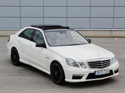 begagnad Mercedes E63 AMG Designo Exclusive 525h
