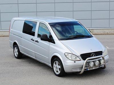 begagnad Mercedes Vito 115 CDI 5-sits + SKÅP Svensksåld
