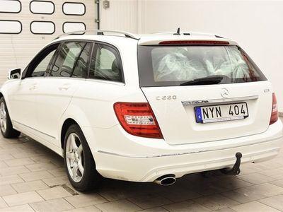 begagnad Mercedes C220 CDI 170hk D-VÄRME / AVANTGARDE