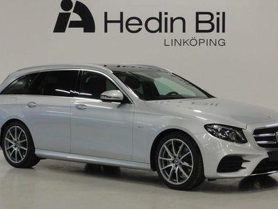 begagnad Mercedes E200 KOMBI AMG PARKERINGSVÄRMARE PREMIUMPAKET PLUS