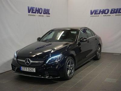 begagnad Mercedes 220 C4-Matic AMG Backkamera Värmare Aut Drag Nav ILS