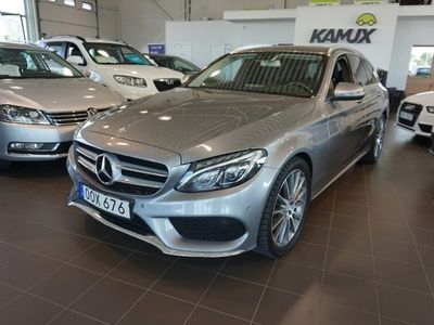 begagnad Mercedes E250 C-Klass d 4MATIC AMG Drag Navi D-Värmare Nyservad 204HK