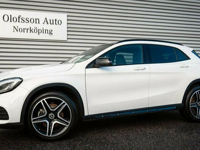 begagnad Mercedes GLA220 4MATIC AMG Drag Panorama Navi