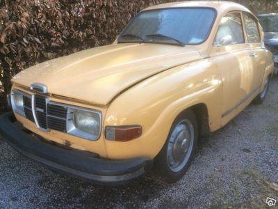 brugt Saab 96 årsmodell 1976, nybesiktigad