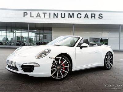 begagnad Porsche 911 Carrera 4S Cabriolet 991 PDK 400hk / Sport Chrono / Innotech Avgas