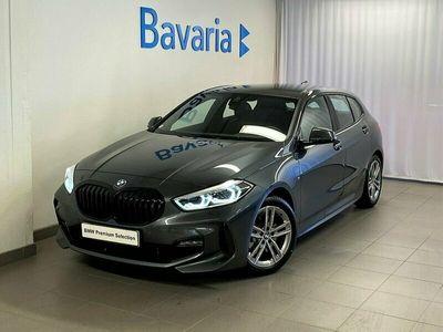 begagnad BMW 118 i M-Sport Automat HiFi Park Assist Shadow Nyp 329 800 Kr