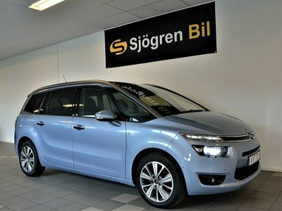 begagnad Citroën Grand C4 Picasso Exclusive 1.6 HDi EGS 7-sits