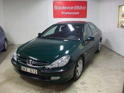 begagnad Peugeot 607 Ny bes,AC,Dragkrok,Automat