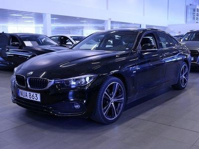 begagnad BMW 420 d 190hk xDrive Model Sport Navi Aut