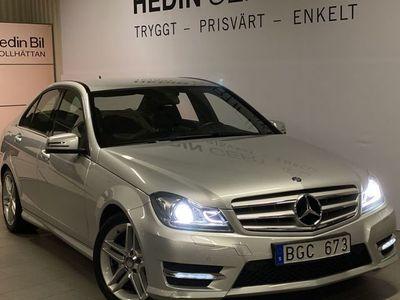 begagnad Mercedes C220 - BenzCDI   AMG   LÅGMILARE   DRAGKROK