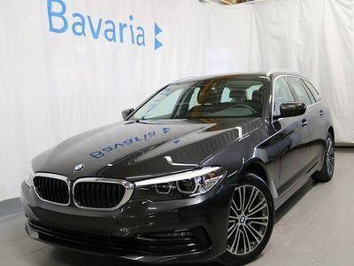 begagnad BMW 520 d xDrive Sportline Connected Ord 2020, Personbil 408 700 kr