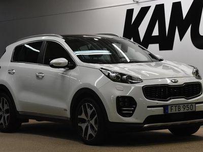 begagnad Kia Sportage 2.0 I CRDi I AWDl I GT-Line | Panorama I Navi I 2017, SUV 219 800 kr
