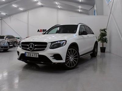begagnad Mercedes 220 GLC Benzd 4MATIC 9G-Tronic AMG Sport Euro 6 2016, SUV 369 000 kr