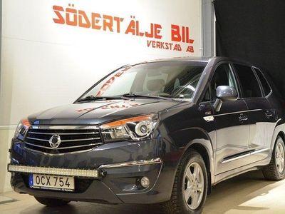 begagnad Ssangyong Rodius 2.2 4WD Auto 7-sits 181hk