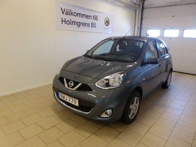 "begagnad Nissan Micra 80 Acenta 16"" Euro6 Parkeringspkt"
