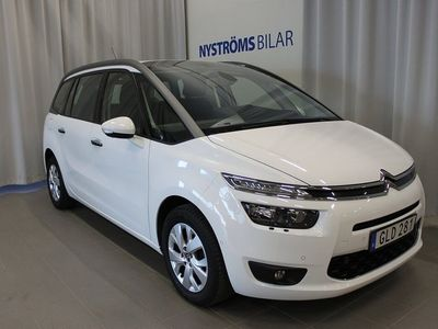 begagnad Citroën Grand C4 Picasso 1.6 HDi EGS 7-sits 114hk Drag