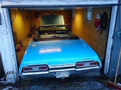 begagnad Chevrolet Impala cabriolet -67 besiktad